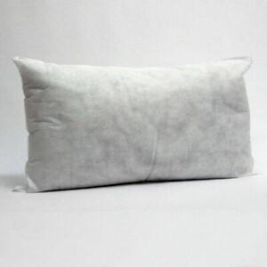 """Rectangle Boudoir Oblong Cushion Insert Inners Pads Filler Pillow 12x18"""",14x18"""""""