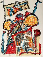 """Jacques DOUCET - """"Traces"""" - Lithographie originale signée"""