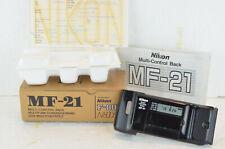 Nikon Datenrückwand MF-21 in OVP und Bedienungsanleitung für die F-801 (N8008)