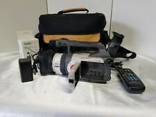 Canon DM-GL1A Mini DV 3CCD Digital Video Camcorder Camera GL1 Tested Working!