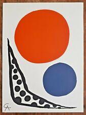 Alexander CALDER (1898-1976) Original MOURLOT Lithographie 1964 : Composition
