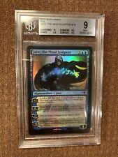 Jace, the Mind Sculptor FOIL (BGS 9), Graded, WORLDWAKE, MTG, Modern, EDH