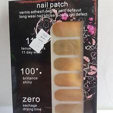 16 Shiny Gold Nail Patch Foils