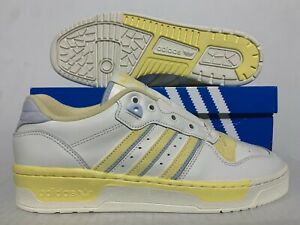 Adidas Originals Rivalry Low Shoes Cloud White  Off White Yellow SZ ( EE5920 )