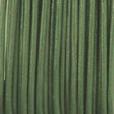 Carte lacet cuir 1mm x3m vert olive