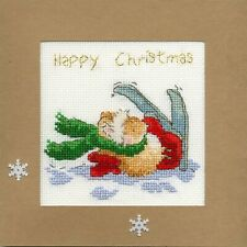 Bothy Threads ~ Counted Cross Stitch Kit ~ Christmas Card ~ Apres Ski ~ XMAS21