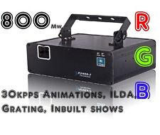 CR Power 7.  ILDA  RGB Laser w/Grating Lens DMX. Very High Quality Laser
