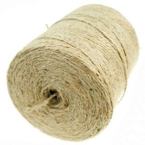 Paketschnur Jute Bindfaden Schnur Juteseil Packschnur 2,0 mm Gartenschnur