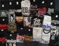 20x DEATH METAL T- SHIRTS PAKET 2 - Gr. S -  DEATH Metal Heavy !! NEU !!