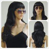 Women 80cm Long Straight Wigs Fashion Cosplay Costume Anime Hair Party Full Wig