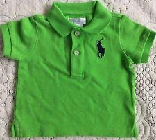 Nuevo Bebé Niños Camisa Ralph Lauren Polo 6M