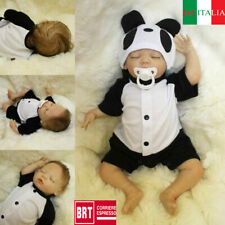 "18"" Vinile Reborn Doll Lifelike Baby Doll Vinyl Kids playmate Bambole rinascere"