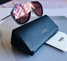 FENDI FABULOUS FF M0039 G/S KB7 Grey Matte Rose Men Women AUTHENTIC Sunglasses