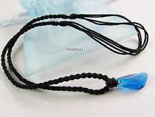H2O Just Add Water Mako Mermaids Necklace Blue Crystal pendant locket T519