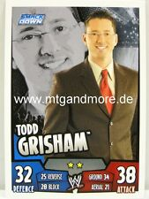 Slam Attax Rumble - Todd Grisham - Smackdown
