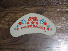 """miami dolphins cheerleaders patch, new old stock,,1960's,""""crescent"""""""