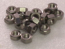 20x 1/4 BSW Whitworth Stainless Steel Full Nuts BSA Vincent Comet Burman Gearbox