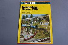 X273 NEUHEITEN Train maquette decor depliant Ho Z1987 6 pages 29,7*21 cm D