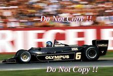Ronnie Peterson JPS Lotus 79 German Grand Prix 1978 Photograph 2