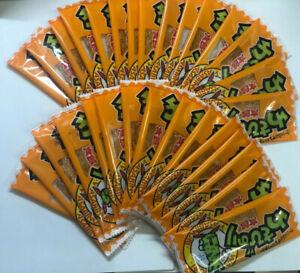 """Japanese Food Snack """"WASABI NORI TARO"""" Wasabi Flavor Dagashi 10 or 30 or 50 pcs"""
