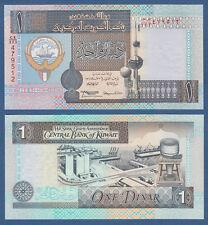 KUWEIT / KUWAIT 1 Dinar L.1968 (1994) UNC  P.25 f