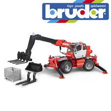 Bruder Manitou Telehandler MRT 2150 Construction Toy Kids Model Scale 1:16