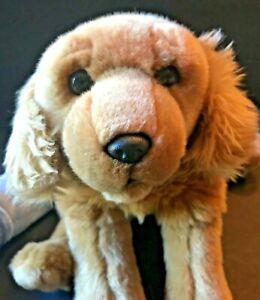 Animal Alley Golden Retriever Puppy Dog Plush Brown Stuffed Toys R Us 2000