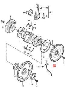 Genuine PORSCHE Cayenne 9PA Flywheel 95510226600