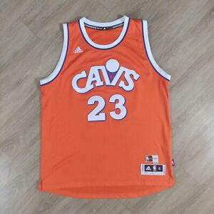 lebron james orange cavs jersey