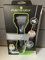 Furminator  Adjustable Dematter Tool For All Cats & Dogs Grooming Gadget Shaver