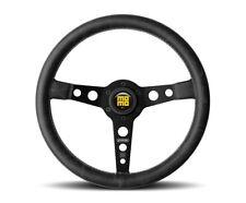 MOMO Prototipo Heritage Steering Wheel Black + MOMO Hub Adapter Kit for Porsche
