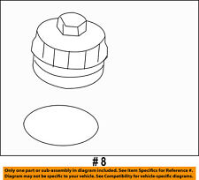 FORD OEM 08-10 F-350 Super Duty 6.4L-V8-Engine Oil Filler Cap 3C3Z6766CA