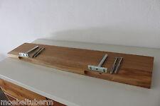 Wandboard Eiche Wild Massiv Holz Board Regal Steckboard Regalbrett NEU