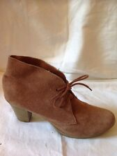 River Island Brown Ankle Suede Boots Size 7