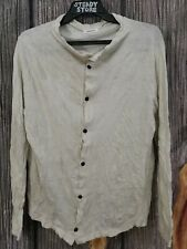 Vintage Issey Miyake Plantation Japanese Designer Buttons Coat Cardigan Shirt M