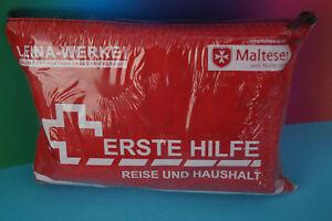 Erste Hilfe Set Haushalt Reise Tasche Hausapotheke Urlaub Verbandtasche 27tlg