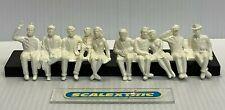 Scalextric SEATED SPECTATORS FIGURES 2 Rows (UN-PAINTED) 1.32 AIRFIX NINCO SCX+