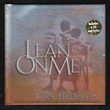Lean on Me - Kirk Franklin - Hardcover w/ Bonus CD Inside! NEW  MINT - Gift Idea