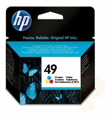 GENUINE HEWLETT PACKARD HP 49 COLOUR INK CARTRIDGE 51649AE 22.8ml HP