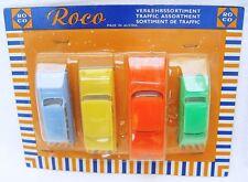Roco Austria 1:64 EDSEL CITATION OPEL FORD TAUNUS AUDI Plastic Toy Car SET `60!