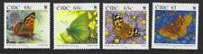 IRELAND 2005 BUTTERFLIES SET OF 4 UNMOUNTED MINT, MNH
