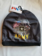 Army Beanie Hat Skull Cap Head Wear Sublimation United States Army Hat USA SHIP