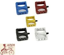 """PRIMO SUPER TENDERIZER ALLOY 9/16"""" 3-PIECE CRANK BLUE BICYCLE PEDALS"""