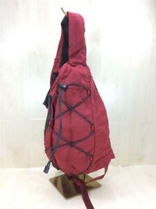 C.P.COMPANY 19Fw Goggles Mini Back Nylon Red Nylon red Shoulder Bag From Japan