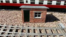Sm32 g scale building garden railway lineside platelayers hut