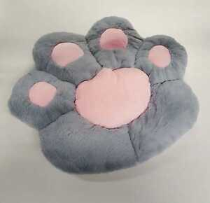 Comfy Paw Print Shaped Soft Cosy Chair Back Pillows