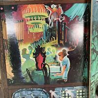 Rare Backdrop From Disney's Haunted Mansion Game By Lakeside Cardboard