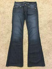 GUESS DAREDEVIL Flare Leg JEANS Size 27 (Inseam 34) CUTE Q99