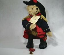 Hermann Bear Napoleon 2004 Teddy Plush 16 1/2in New 500 Pièces