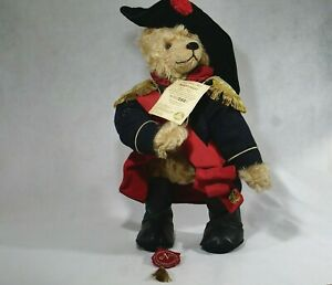 Hermann Bear Napoleon 2004 Teddy Plush 16 1/2in New 500 Pièces